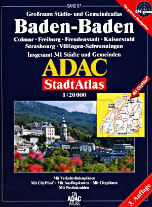 Baden Baden Street ATLAS, Germany.