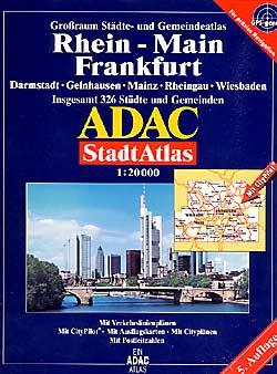 Frankfurt Main Street ATLAS, Germany.