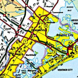 Atlantic County, New Jersey, America.
