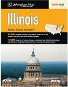 Illinois Road Atlas, America.