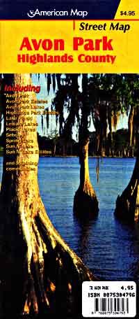 Avon Park, Lake Placid, and Sebring, Florida, America.