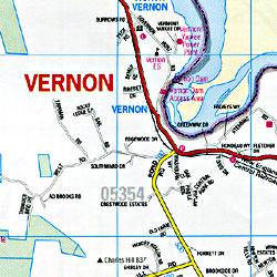 Bennington and Windham Counties, Vermont, America.
