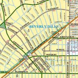 "Beverly Hills and Hollywood ""CitySlicker"" California, America."