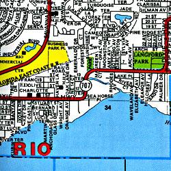 Okeechobee and Martin Counties, Florida, America.
