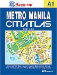 MANILA (Metro) City Street Atlas, Philippines.