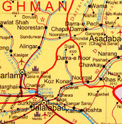 Afghanistan WALL Map.