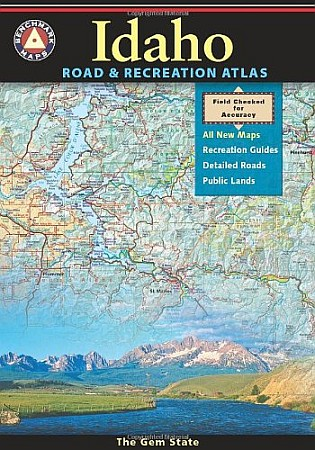 Idaho Road and Recreation Atlas, America.