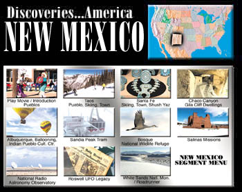Discoveries...America, New Mexico.