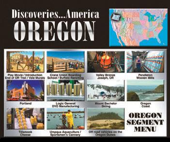 Discoveries...America, Oregon.