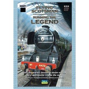Flying Scotsman Running The Legend - Train Video.