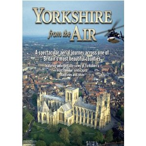 Yorkshire From the Air - Train Video.