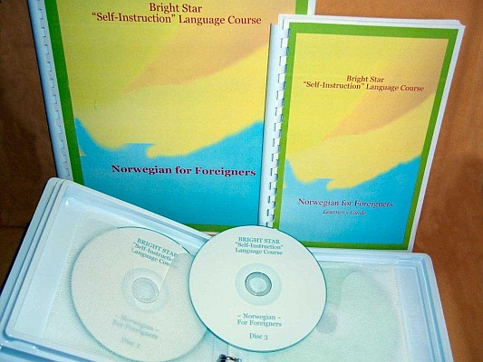 Norsk for Utlendinger 1 (Norwegian Language for Foreigners) Audio CD Language Course.