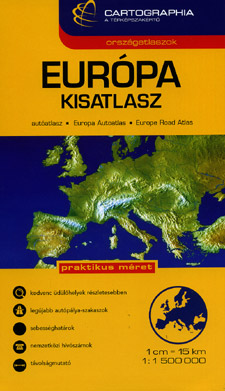 Europe Road and Tourist ATLAS.