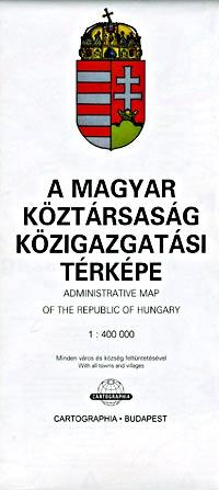 "Hungary ""Administrative"" Map."