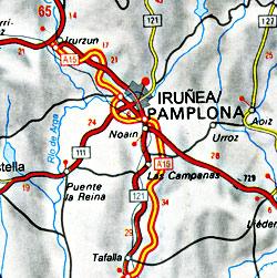 Cartographia France Road Map, Travel, Tourist, Detailed, Street.