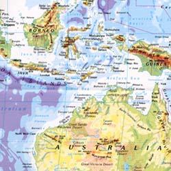 World Physical Map.