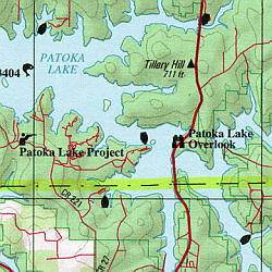 Indiana Road, Topographic, and Shaded Relief Tourist ATLAS and Gazetteer, America.