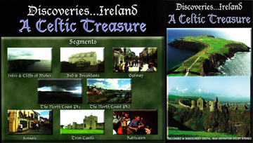 Discoveries Ireland: A Celtic Treasure - Travel Video VHS.