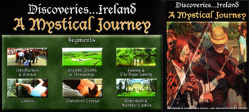 Discoveries Ireland: A Mystical Journey - Travel Video VHS.