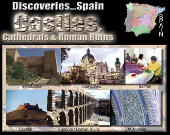 Discoveries...Spain: Cathedrals & Roman Ruins - Travel Video.