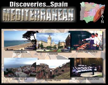 Discoveries...Spain: Mediterranean - Travel Video.
