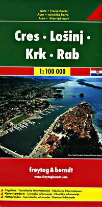 Cres, Losinj, Krk, and Rab Islands, Croatia.