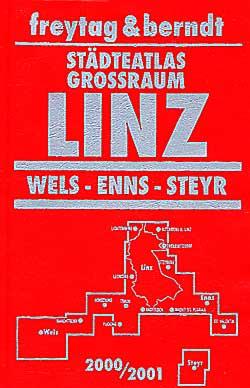 Linz, Wels, Enns, and Steyr Street ATLAS, Austria.