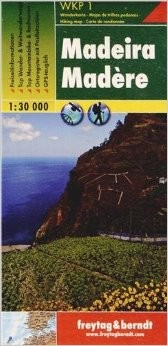 Madeira (Hiking, Cycling and Leisure Portugal) Hiking Map.