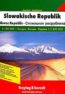 Slovakia, Tourist Road ATLAS.