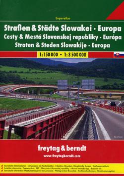 Slovak Republic, Tourist Road ATLAS.