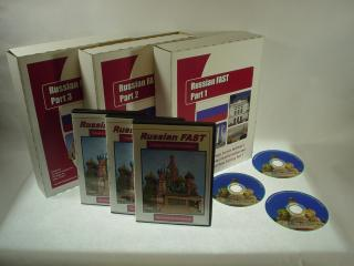 """Russian """"FAST"""" Audio CD Language Course."""