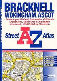 Bracknell Street ATLAS, England, United Kingdom.