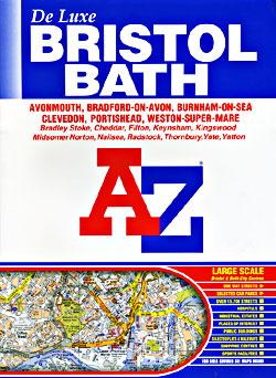 Bristol and Bath (Deluxe) Street ATLAS, England, United Kingdom.