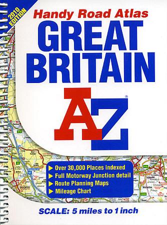 "Great Britain ""Handy"" Tourist Road ATLAS."