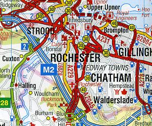 "LONDON ""50 Miles Around"", England, United Kingdom."