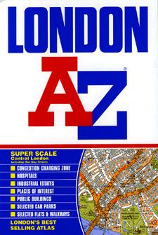 "London ""Color Edition"" Street ATLAS, England, United Kingdom."