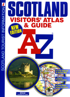 Scotland Visitors' Road Atlas and Guide.