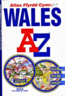 Wales Road and Tourist Atlas.