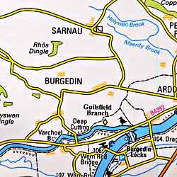 Llangollen and Montgomery Canals.