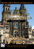 Cathedral of Santiago of Compostela Spain - Travel Video.