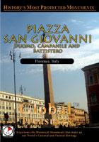 Piazza San Giovanni (Duomo Campanile And Battistero Firenze) - Travel Video.