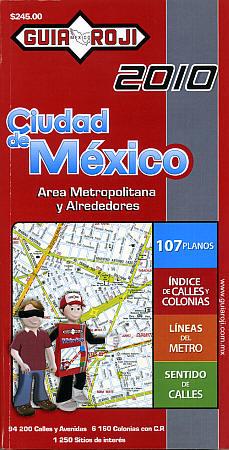 MEXICO CITY Street ATLAS, Distrito Federal, Mexico.