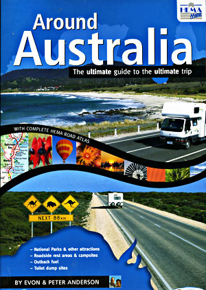 Around Australia Tourist Road ATLAS.