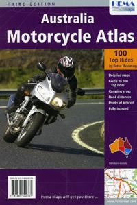 Australia Motorcycle Tourist Road ATLAS.