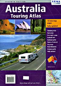Australia Touring Road ATLAS.