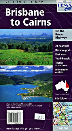 Brisbane to Cairns, Australia.