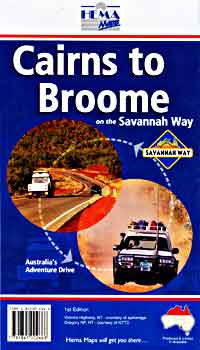 Cairns to Broome, Australia.