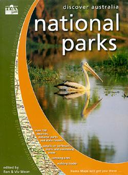 Australia National Parks Tourist Road ATLAS.
