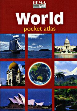 """""""World Pocket Atlas""""."""