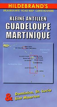 Guadeloupe, Martinique, Dominica, Saint Lucia, and St.